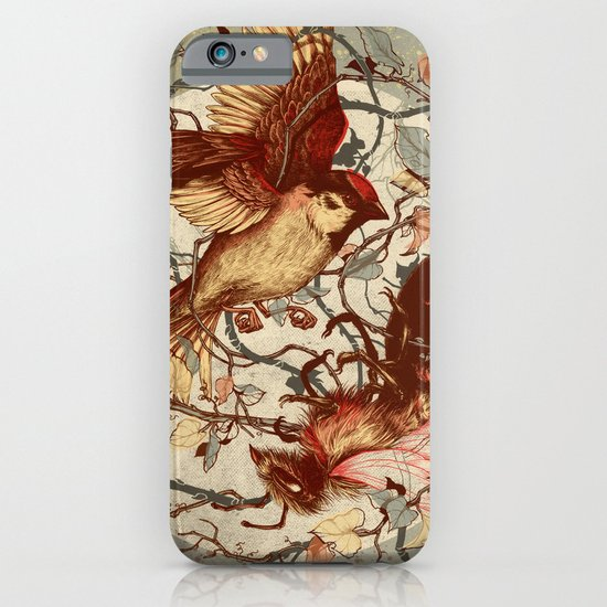 Honey & Sorrow (grey) iPhone & iPod Case