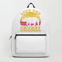 Rhino Chubby Unicorns Backpack