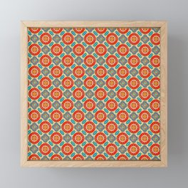 Persian Seal Framed Mini Art Print