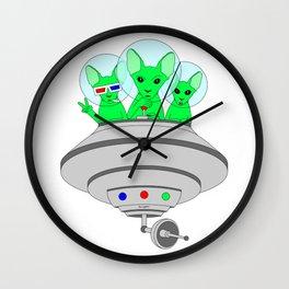 UFO CATS Wall Clock