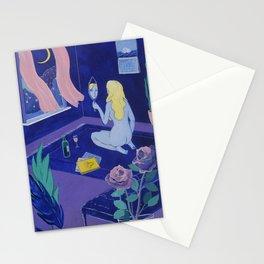 Melancholy Babe Stationery Cards