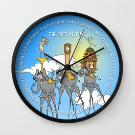 The temptation of time Wall Clock