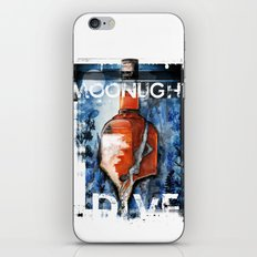 MOONLIGHT DIVE iPhone & iPod Skin