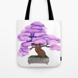 Violet Bonsai Tote Bag