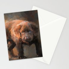 A Little Bit of Chocolate Lab Stationery Cards