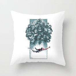 Falling Shepard Throw Pillow