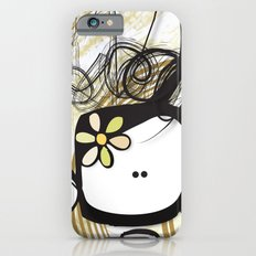 swirl girl iPhone 6s Slim Case