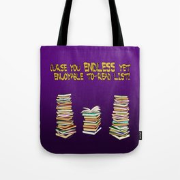 Endless to-read List Tote Bag
