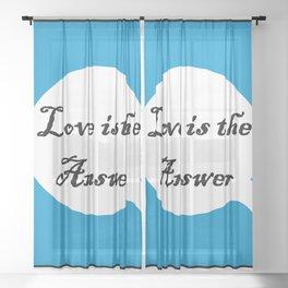 Love B Sheer Curtain