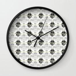 ouija board pattern Wall Clock
