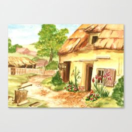 European Countryside Canvas Print