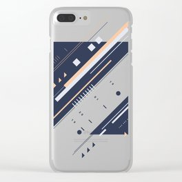 TEE 238 Clear iPhone Case