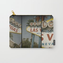 Welcome To Vegas Sign Series VII Carry-All Pouch