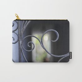 Charleston Blue Wrought Iron Carry-All Pouch