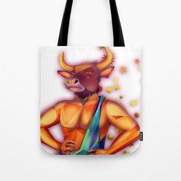 Taurus sign Tote Bag