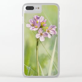 Delicate beauty Clear iPhone Case