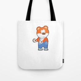 Floss Dance Move Bear Tote Bag