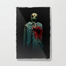Fifth Avenue Halloween Ghost. Metal Print