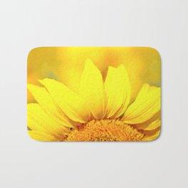 Sunflower love Flowers Flower Summer floral Bath Mat