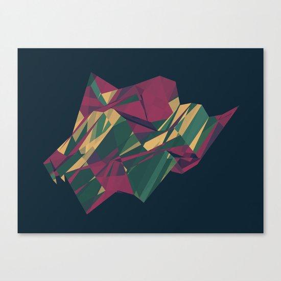 Crystalline 1 Canvas Print
