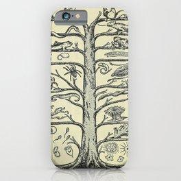 Evolution Tree iPhone Case