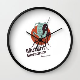 Hexinverter.net – Mutant Bassdrum Wall Clock