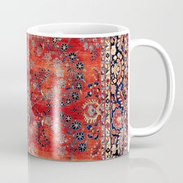 Sarouk Arak West Persian Carpet Print Coffee Mug