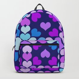 Ultra-Violet Heart Quilt Backpack