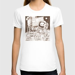 First on the Moon T-shirt