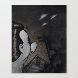 Sighting on Simmonds Street Canvas Print