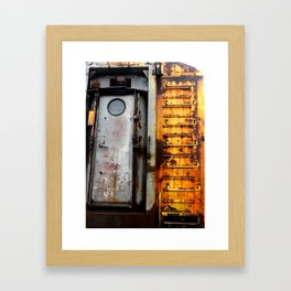 Train Ladder Framed Art Print