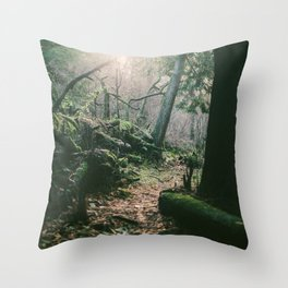 ORCAS ISLAND FOREST Throw Pillow