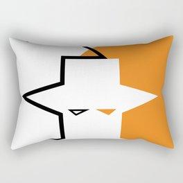 Geometric faces #society6 #decor #buyart #artprint Rectangular Pillow