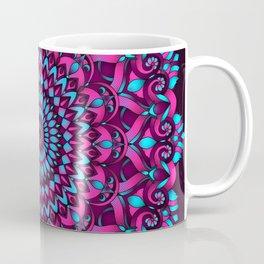 Cotton Candy Mandala Coffee Mug