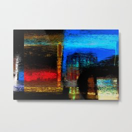 Abstract Certainty Metal Print