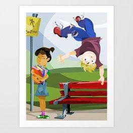 ...boys. Art Print