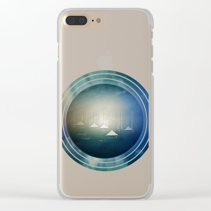 Communicate in Blue / Archipelago 27-01-17 Clear iPhone Case