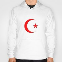 islam Hoodies featuring Islam symbol by gbcimages