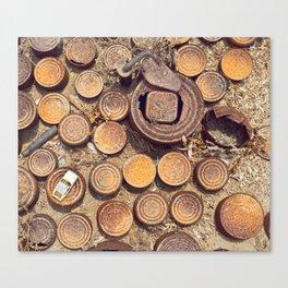 Rusty & Dusty Canvas Print