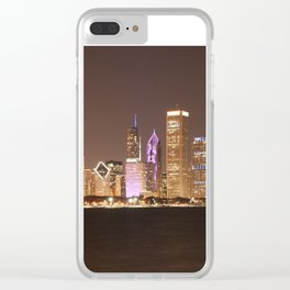 Night in Chicago Clear iPhone Case