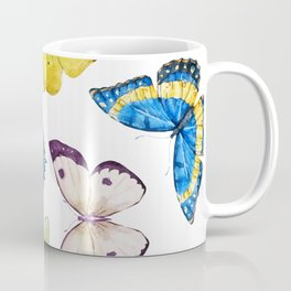 Butterfly Pattern 01 Coffee Mug