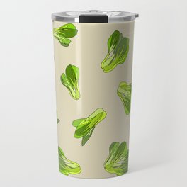 Bok Choy Vegetable Travel Mug