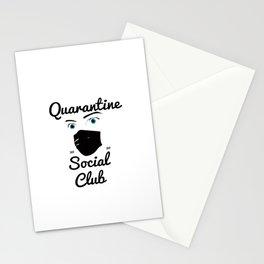 QuarantineSocialClub Stationery Cards
