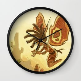Goblins Drool, Fairies Rule! - Kokopelli Wall Clock