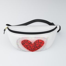 Love Heart With Pixie Dust Fanny Pack