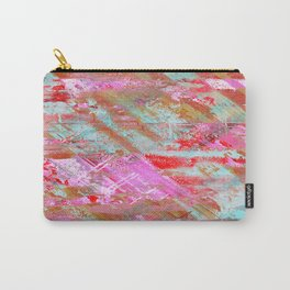 Confidence - Abstract, textured oil painting Carry-All Pouch