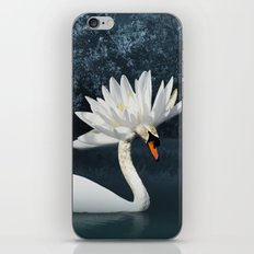 Tribal Swans iPhone & iPod Skin