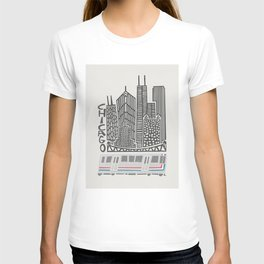 Chicago Cityscape T-shirt