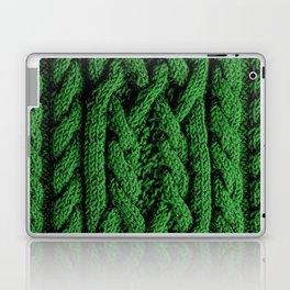 Irish sweater (green) Laptop & iPad Skin