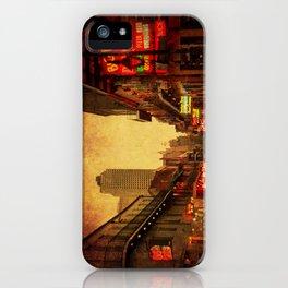 Bourbon Street Grunge iPhone Case